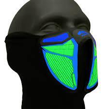 ماسک LED فستیوال