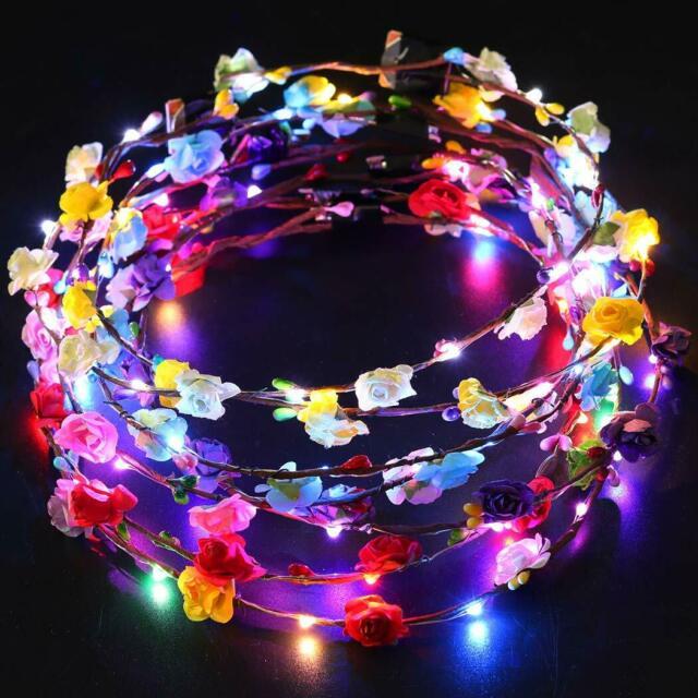 تاج گل LED